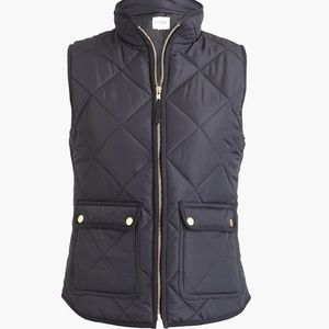 J. Crew Quilted Puffer